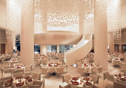 miX restaurant at Delano Las Vegas, one of GAYOT's Best Restaurants for New Year's Eve