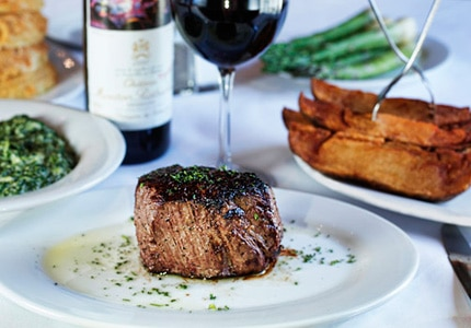 Chophouse in New Orleans, Louisiana