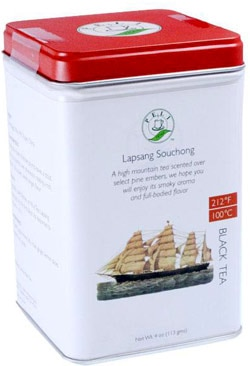 PeLi Teas Lapsang Souchong offers a jolt of smoky flavor