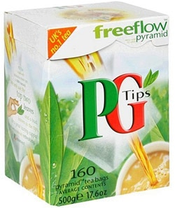 PG Tips tea is sustainable and Rainforest Alliance certified