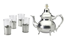 Mighty Leaf Moroccan-Style Casablanca Tea Set