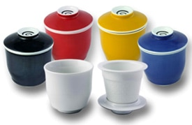 The Tea Spot's Steeping Cups