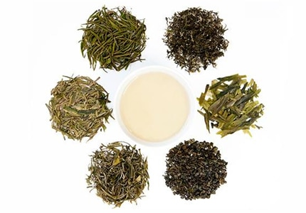 Learn about different types of green tea