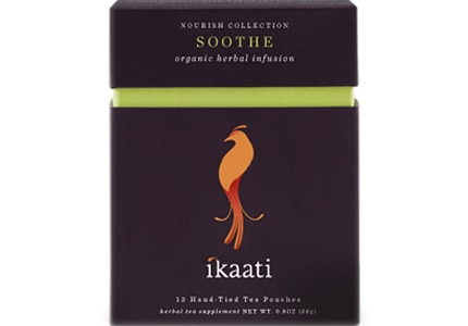 Ikaati Soothe tea are chock full of relaxation-giving herbs like nettle leaf and red clove