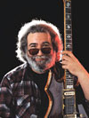 Legendary musician and Grateful Dead frontman Jerry Garcia