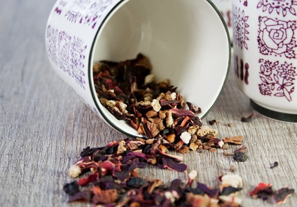 Loose-leaf tea contains larger quantities of vitamins