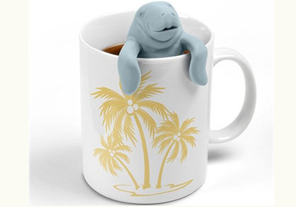 Check out GAYOT's blog for a full review of the ManaTea Infuser from Fred & Friends