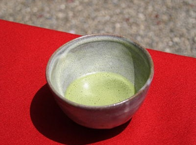 Matcha Green Tea is the centerpiece of a traditional Japanese tea ceremony