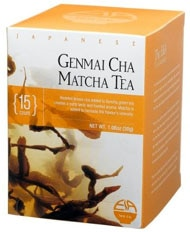 The E & A Tea Company's Genmai Cha Matcha Tea