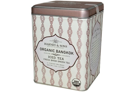 Harney & Sons Organic Bangkok Iced Green Tea, one of GAYOT's featured teas