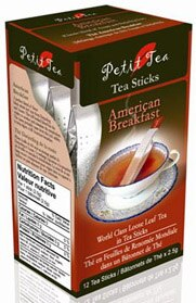 Petit Tea's American Breakfast Tea Sticks