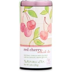 Sip for the Cure: Red Cherry White Tea from the Republic of Tea