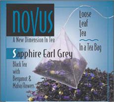 Novus Tea's Sapphire Earl Grey Tea Blend