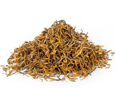 TeaVivre Yun Nan Dian Hong is a light, golden and aromatic black tea