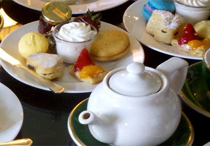 Enjoy afternoon tea at one of the best tea houses in the world