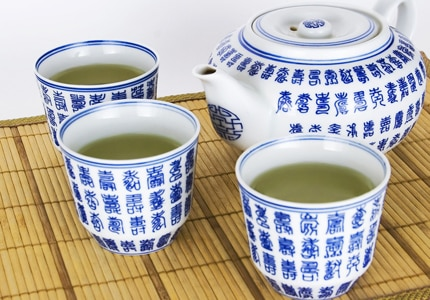 Unlike the United States, green tea is a diet staple in these east Asian countries