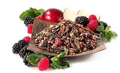 Teavana blackberry mojito loose-leaf tea, one of our Top 10 Green Teas