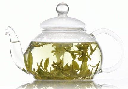 Teavivre Premium Dragon Well Long Jing Green Tea is a top seller in China and the choice for important guests like heads of states