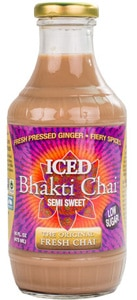 Bhakti Chai Semi Sweet, one of GAYOT's Top 10 Iced Teas