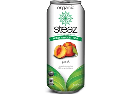 Steaz's green teas contain 120 mg of antioxidants per bottle