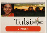 Tulsi Ginger Tea is made from holy basil, one of the most revered herbs in India