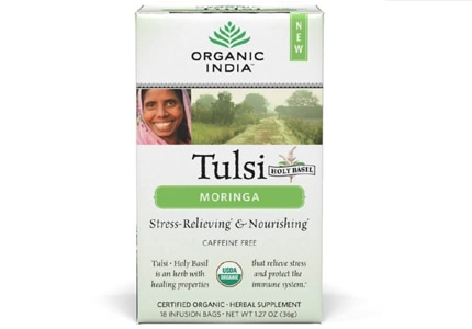 Check out Tulsi Moringa Tea