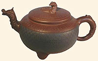 Blue Dragon Yixing teapot