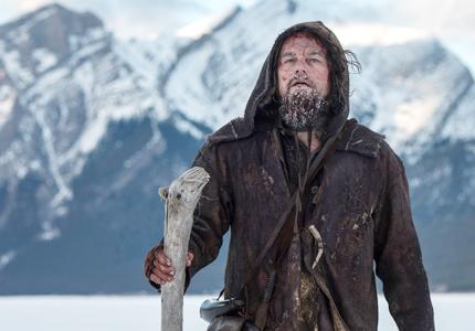 Leonard DiCaprio stars as Hugh Glass in The Revenant