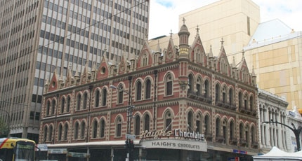 Haigh's Chocolates in Adelaide, Australia