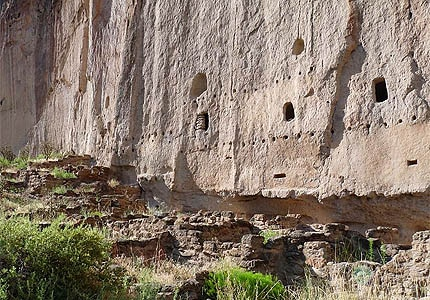 Bandelier National Monument in Albuquerque, New Mexico