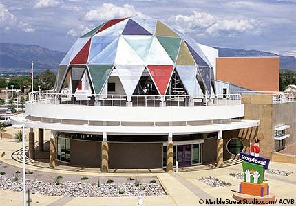 Explora in Albuquerque, New Mexico, has more than 250 interactive exhibits