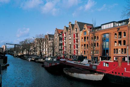 Amsterdam's charming grachtenpanden