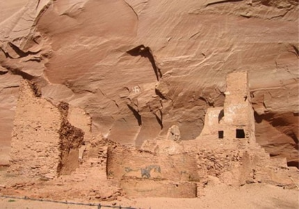 Antelope House at Canyon de Chelly National Monument, one of the many outdoor attractions in Arizona