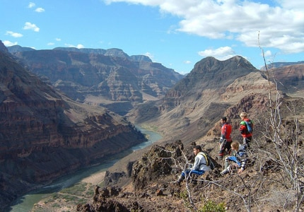 See a remote part of the Grand Canyon on Grand Canyon Scenic Airlines' Bar 10 Ranch tour