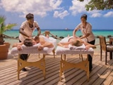 Indulge in a sunset couples massage at Renaissance Aruba Resort & Casino's Spa Cove