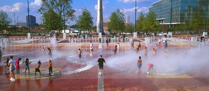 Centennial Olympic Park - Fountain