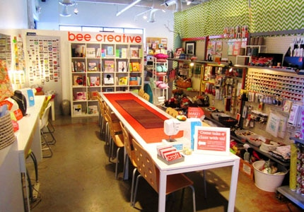 Inside the beehive boutique in Atlanta, Georgia