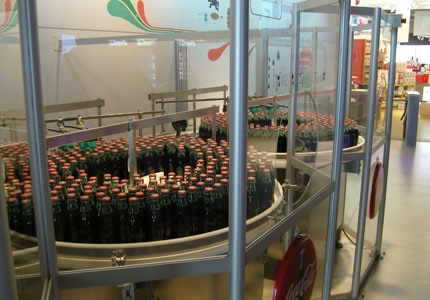 Go behind-the-scenes of an iconic American drink at the World of Coca-Cola in Atlanta, Georgia