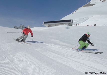 Lech-Zuers in the Austrian Alps offers world-class skiing