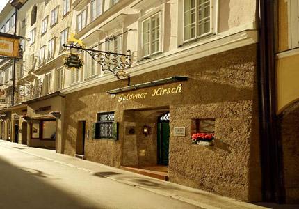 Hotel Goldener Hirsch in Salzburg, Austria