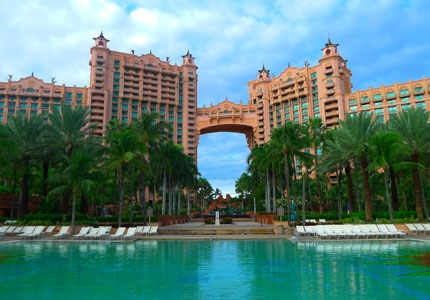 The Atlantis Resort on Paradise Island in the Bahamas