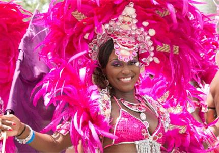 Enjoy live entertainment at the Bahamas Junkanoo Carnival