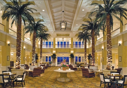 Inside Grand Lucayan Hotel on Grand Bahama Island
