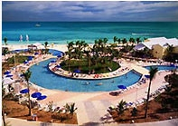 Pool at the Radisson Grand Lucayan
