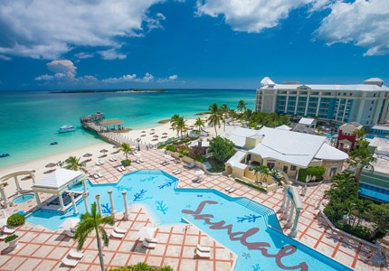 The Sandals Royal Bahamian in Nassau, Bahamas