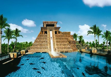 The Reef Atlantis, Autograph Collection, has one of GAYOT's Top 10 Waterslides in Luxury Resorts