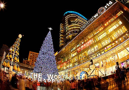 Celebrate New Year's Eve at CentralWorld in Bangkok, Thailand