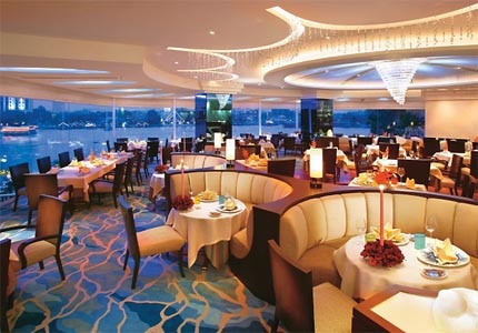 Lord Jim's restaurant at the Mandarin Oriental, Bangkok