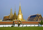 The Royal Palace in Bangkok, also known as the Grand Palace