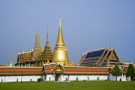 Bangkok's Royal Palace,also known as the Grand Palace